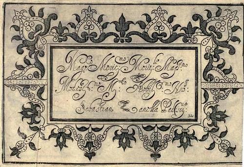 Bertozzi + Zanilla 1604 Lace Typography i