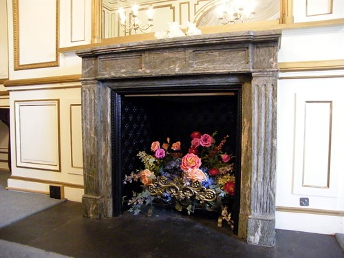 Detail - Gold Room Mantle