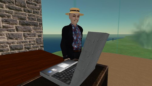 Second Life: ISTE: Howard Rheingold - Cyberspace is Social