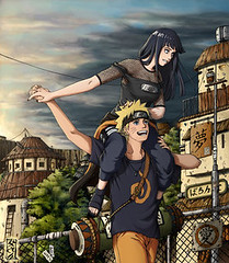 hinata & naruto (Like Magic) Tags: anime art fan couple couples fanart naruto uzumaki hinata hyuuga