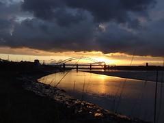 Runcorn Bridge (matrixscaz) Tags: bridge jubilee runcorn rivermersey