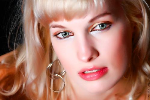 blonde woman Alexandra