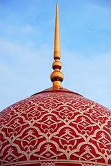 Putrajaya Mosque (qiyam81) Tags: mosque malaysia dome symmetrical putrajaya islamicpattern islamicdome