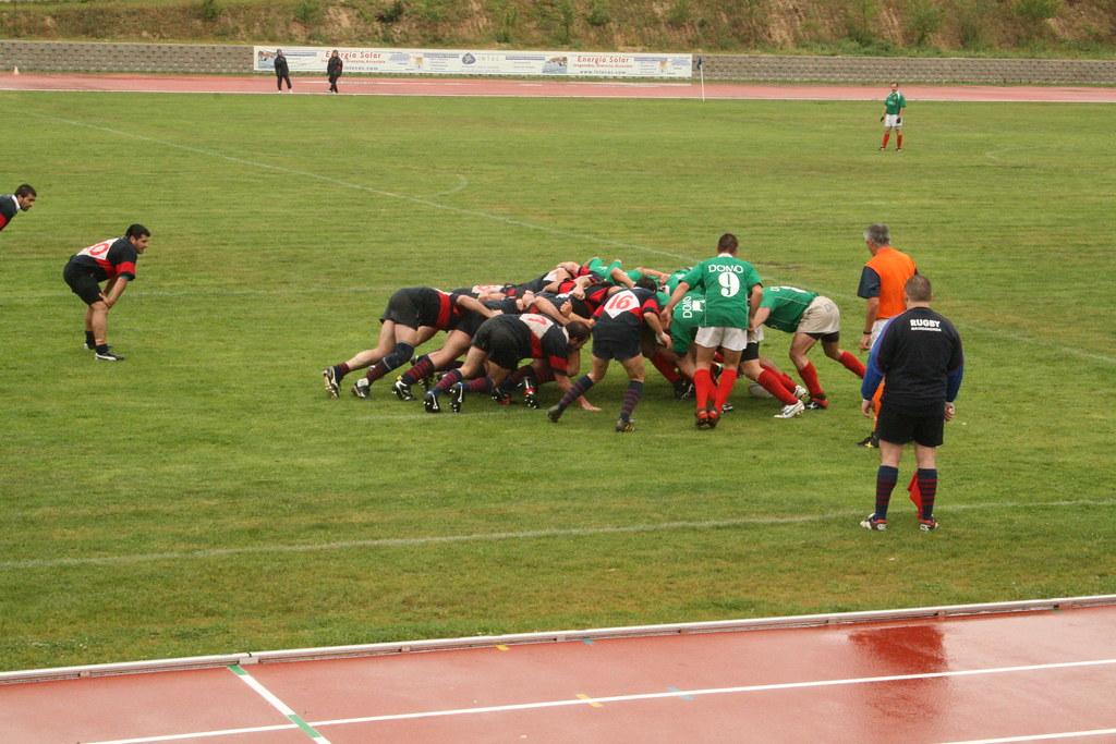Melé rugby  Majadahonda vs San Jerónimo