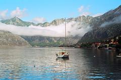 Boka Kotorska (yuriye) Tags: montenegro kotor cloud boka bay mountain rocks water fjord crna gora црна гора котор adriatic sea gulf бока которска вода clouds reflection yuriye черногория balkans balkan