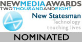 New Media Awards 2008