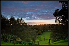 Good Morning (Chris Gin) Tags: park morning newzealand sky clouds dawn cornwall auckland nz ndfilter gndfilter neutraldensity graduatedfilter