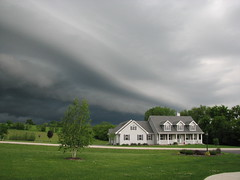 Waves of Clouds (KimberlyD) Tags: usa weather wisconsin clouds alley storms tornado thunderstorms mukwonago wallclouds shelfclouds mukwonagowisconsin wisconsinthunderstorms tornadoalleyusa