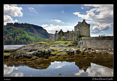 Eilean Donan Castle (Maciej - landscape.lu) Tags: world uk sky mountains reflection skye castle water colors rock clouds zeiss wonderful t landscape island scotland highlands isleofskye searchthebest sony tripod may dramatic scottish 2008 za isle eilean donan f28 ssm manfrotto ecosse sonnar 247028 2470mm vario blueribbonwinner variosonnar 322rc2 190v golddragon mywinners abigfave anawesomeshot ysplix platinumheartaward dslra700 sal2470za sonyzeissvariosonnart2470mmf28zassm sonyalphascotland variosonnar247028za