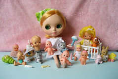 nanny (merwinglittle dear) Tags: baby cute fun toy doll babies nanny collection plastic babysitter