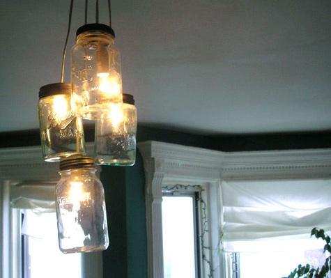 glass jar lighting outdoor mason jar lights diy project whitneys designsponge