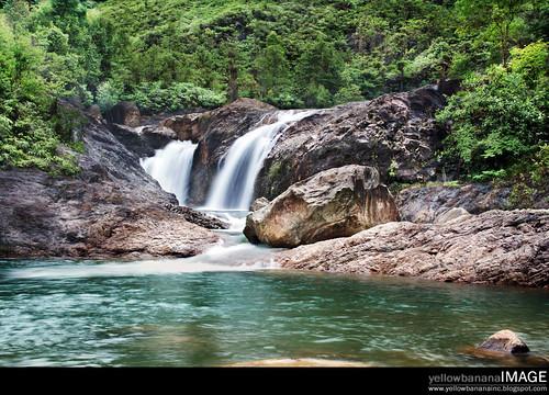 Berkelah  waterfall 01
