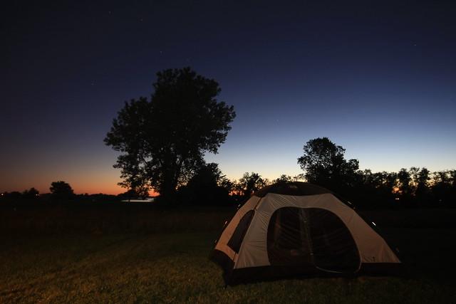 Camping at Smithville Lake