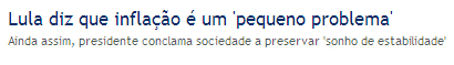 Globo Online 16/06/2008