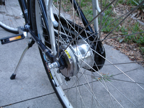C C Db O on Bicycle Drum Brake Hub