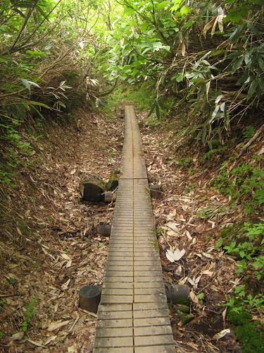 Westward down from Yakeyama