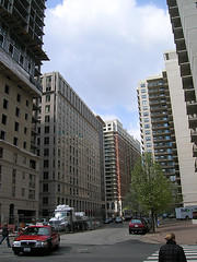 high-rises near the Ballston Metro (by: Rob Goodspeed, creative commons license)