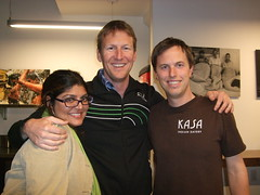 Shilpa Patel, Paul Day, and owner of the new Kasa