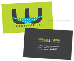 Tentative business card design (double-sided) (Wedgienet.net - Illustration / Design) Tags: promotion horizontal logo stars star business identity card thong branding wedgie professionalism bizcard reginasilva wedgienet wedgienetnet regsilva