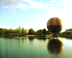 B vg  s  v yu .,, (D o 7 ) Tags: park sea sky lake paris tree water scenery lough view natural disneyland balloon disney land loch mere lanscape spectacle frane               dafflingly