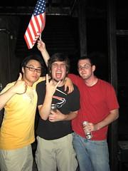 Mainers celebrating the 4th! (jrkester) Tags: japan hirosaki 4thofjuly 2008