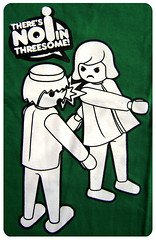 there's no i in threesome (Radiola Camisetas) Tags: moda tshirt camiseta interpol playmobil camisetas alternativa ldico radiolacamisetas theresnoiinthreesome popalternativo