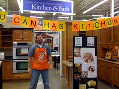 lolkitchen (new1mproved) Tags: me kitchen sign work lol picturephone lolcode