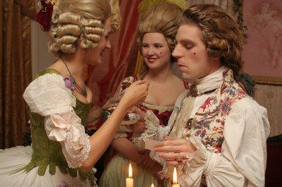 Official dress code baroque