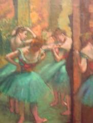 degas (hazeyjana) Tags: nyc newyorkcity art painting manhattan themet metropolitanmuseumofart ballerinas edgardegas