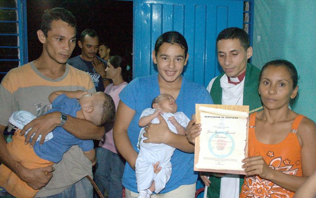 Jose Ignacio, family and friends