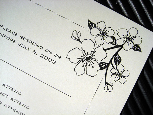 Wedding Invitation Design Flower Border Tuesday May 26 2009