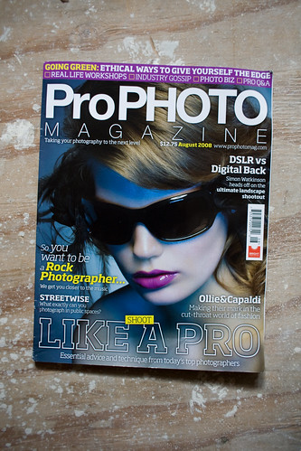 Unphotographable Interview in ProPhoto Magazine