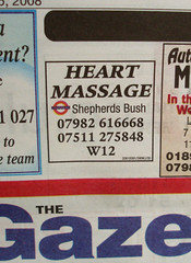 So you have a heart attack and call them?