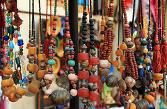 necklaces (fatimaflicks) Tags: travel colors morocco maroc fatima