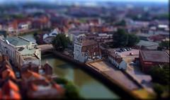River Witham, Boston Lincolnshire. Tilt shift mini fake (Bay M) Tags: world boston photoshop river miniature fake shift down mini lincolnshire richard tilt witham shrinking simonk wisbey