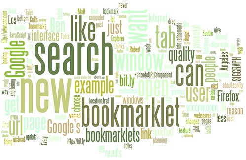 matt cutts blog wordle