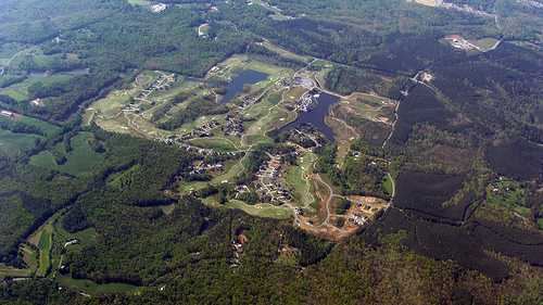 a new golf course community, north of Atlanta (by: Curtis Palmer, creative commons license)
