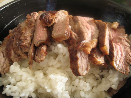 Steak (sliced) on Rice 2