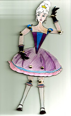marionette (mina.s.m.) Tags: cutout paper doll marionette