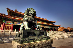 The Forbidden City (Chee Seong) Tags: china summer vacation canon beijing 2008 hdr   canon1022mm 400d formerpalace
