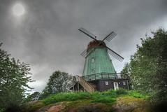 Windmill (hkkbs) Tags: windmill sweden 1870mmf3545g 100views sverige nikkor westcoast hdr västkusten 3xp kungälv photomatix nikond200 väderkvarn kvarnkullen
