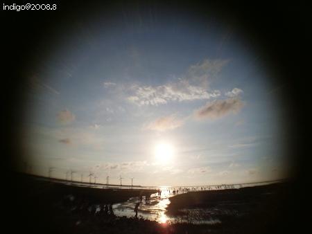 太陽落下 (by indigo@Taiwan)