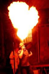 Burning oxygen (Alessandro Fati) Tags: show travel portrait people italy fire artist events persone viaggi ritratto medievale fuoco sagra artisti mosso spettacoli giocolieri filetto travelsofhomerodyssey sagradifilettoinlunigiana
