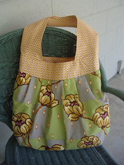 Latest Amy Butler Creation (morningk) Tags: bag sewing sew fabric purse bags purses tote amybutler totes totebag birdiesling