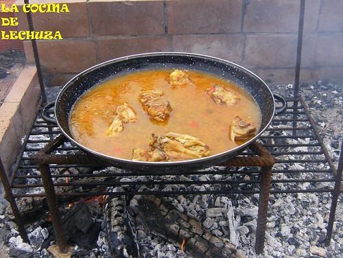Paella-fuego