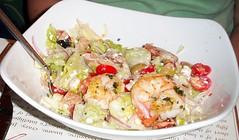 Grilled Shrimp Salad at the Full Shilling