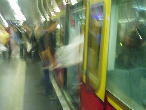 Acelerado metro Berlín