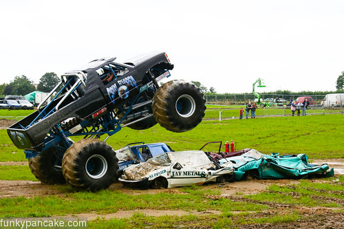 Big Petes Monster Truck Show by funkypancake