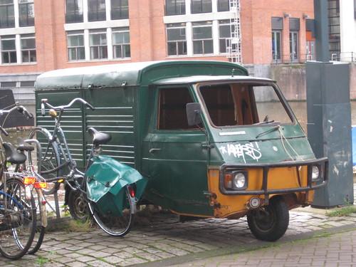 Amsterdam - mini truck!