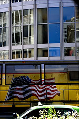 Reflection and Bus (justtakenpictures) Tags: windows urban reflection window minnesota digital canon march riot cops flag political protest stpaul minneapolis police parade transportation antiwar convention democrat obama democraticconvention protester rnc arrested canond30 buss 30d prowar republicanconvention chicagoriot motifdchallengewinner beginnerdigitalphotographychallengewinner beginnerdigitalphotographychallenge democates donalwaites donwaites surfcityphoto
